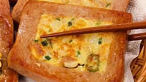 午餐肉煎餅飯 Spam Rice Pancake