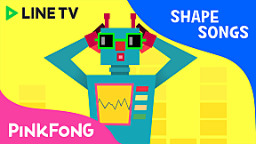 Square Robot   Pinkfong Shape Songs