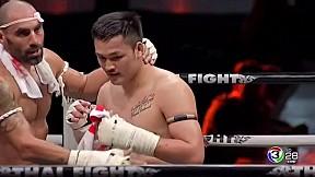 Thai Fight เกาะสมุย 2019 | เต็งหนึ่ง ศิษย์เจ๊สายรุ้ง VS Simon Maait