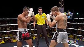 Thai Fight เกาะสมุย 2019 | ชนะจน พี.เค.แสนชัยมวยไทยยิม VS Patryk Borowski-Beszta