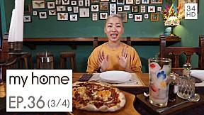 My Home :บ้านที่ถูกปรับปรุงใหม่เพื่อแต่งแต้มความฝันและช่วงเสาะหามาฝากที่ร้านFeatherstone Café  EP.36 [3\/4]