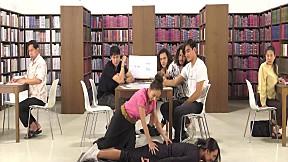 Silent Library ห้องสมุด เงียบสงัด   EP.9 THE FACE MEN THAILAND   เกมนวดแผนไทย
