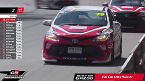 Toyota Gazoo Racing Motorsport 2019 สนามที่ 1 Vios One Make Race Division 1