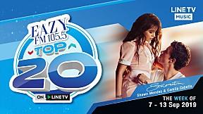 EAZY TOP 20 Weekly Update   15-09-2019