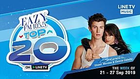 EAZY TOP 20 Weekly Update | 29-09-2019