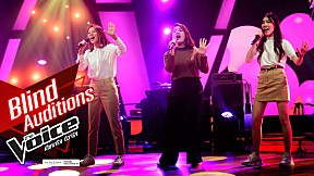 Sisters'time  - Shalala lala   Blind Auditions   The Voice 2019 21 ต.ค. 2562