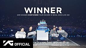 WINNER - 2019 TOUR ENCORE IN SEOUL [DVD+LIVE CD] SPOT