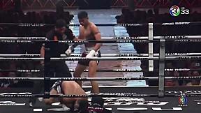 Thai Fight แม่สอด 2019   กิตติ ส.จ.แดนระยอง ปะทะ Hamed Soleimani