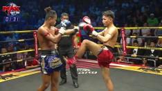 18 ก.พ. 63 | ไอ้มืด โชคดียิม VS ปานชัย ศิษย์สั่งปราบ | THE CHAMPION MUAY THAI