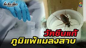 ทึ่ง! ไทยผลิตวัคซีนแก้ภูมิแพ้แมลงสาบ!    อึ้งทึ่งเสียว   ช่อง8