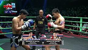 11 ก.พ. 63 | คู่ที่ 4 | ห้าฉลาม EUM มวยไทย VS สิงห์พรชัย AM มวยไทย l MUAY THAI FIGHTER