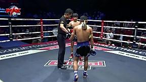 6 ก.พ. 63 | คู่ที่ 2 | กาก้า ป. ปลื้มยิม VS เหลี่ยมเพชรน้อย ศิษย์บอลสกล l The Global Fight Champion Challenge