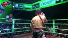 11 ก.พ. 63 | คู่ที่ 5 | น้อยหน่า มิตรไทยยิม VS เพชรพลังพล ศิษย์แสงจันทร์ l MUAY THAI FIGHTER