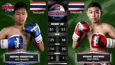 24 ก.พ. 63 | คู่ที่ 3 | วิศรุต ศักดิ์ชานุ VS รถถัง ต้นมวยไทย | MUAY THAI FIGHTER