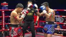 28 ก.พ. 63 | คู่ที่ 2 | รุ่งแสนชัย กิตติศักดิ์มวยไทย VS กี้ ฮิม | MUAY THAI BATTLE