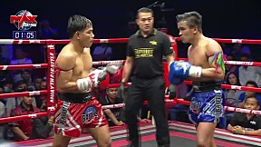 Highlight | กี้ ฮิม (CA) VS รุ่งแสนชัย กิตติศักดิ์มวยไทย (TH) | MUAY THAI BATTLE | 28 ก.พ. 63