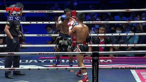 5 มี.ค. 63 | คู่ที่ 3 | เทอดไทเล็ก ศิษย์หมวดวี VS เพชรดำ ป.ประวิทย์ | The Global Fight Champion Challenge