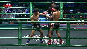 10 มี.ค. 63 | คู่ที่ 1 | ตะวันรุ่ง อ. ชนะชัย VS เพชรคิงอ๊อฟ คิงอ๊อฟมวยไทย | MUAY THAI FIGHTER