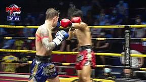 HIGHLIGHT | ก้องนำชัย ส. จิตสว่างอะไหล่ยนต์ VS อันดามัน ส.ยันตะสี | The Champion Muay Thai | 7 มี.ค. 63