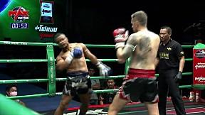 HIGHLIGHT   JOSE DASILVA (BR) VS RYAN RUTERFORD (US)   MUAY THAI FIGHTER   16 มี.ค. 63