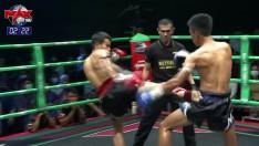 HIGHLIGHT | คู่ที่ 2 | จาย หลา (เมียนมาร์) VS จอมโว ฟรีระยอง | MUAY THAI FIGHTER | 10 ก.พ. 63