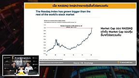 บอกอะไรกับเรา...? เมื่อมูลค่าหุ้นใน NASDAQ สูงกว่ามูลค่าหุ้นแทบทุกประเทศในโลกรวมกัน | FINNOMENA LIVE