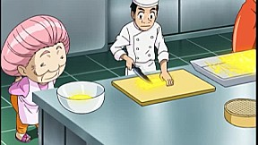 โทริโกะ ซีซั่น 3   EP.12 ตอน ได้เวลาเอาจริงแล้ว! ธรรมเนียมอาหารของโคมัตสึ ได้ทานแล้ว เส้นบะหมี่มายาเซ็นเม็ง !!