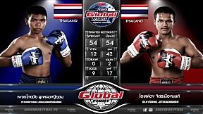 15 ก.ค. 63 | คู่ที่ 4 | เพชรโกยชัย ลูกหลวงปู่อุดม VS โอเลห์ดง จิตรเมืองนนท์ | The Global Fight Champion Challenge