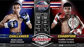 16 ก ค  63 | คู่ที่ 4 | เสือน้อย มิสกวัน VS เพชรสีนิล ต. คงอินทร์ | The Global Fight Champion Challenge