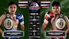 27 ก.ค. 63 | คู่ที่ 4 | ฟ้าใส ช้างไทยยิม VS บาร์เบียร์ ศิษย์สนธิเดช | Muay Thai Fighter