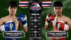 3 ส.ค. 63 | คู่ที่ 3 | คงเดช ต. ห้วยไร่ VS ปลาทอง สจ. โรจน์ชัย | Muay Thai Fighter