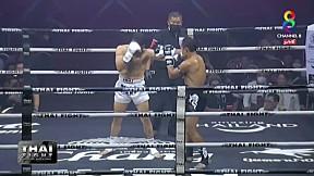 THAI FIGHT BEGINS | แสนชัย พี.เค. แสนชัยมวยไทยยิม vs ESMAIL GANJI