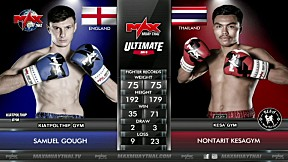 [ FIGHT 2 ] ENGLAND VS THAILAND - Max Muay Thai X LINE TV