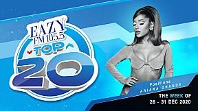 EAZY TOP 20 Weekly Update | 03-01-2021