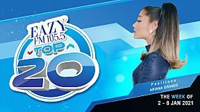 EAZY TOP 20 Weekly Update | 10-01-2021