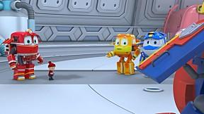 Robot Train S2   EP.3 ตอน ไม่นะเควิน อีกแล้วหรอ!