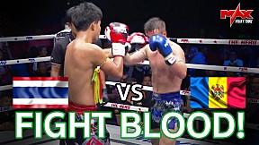 THE HERO I สายบู๊! ไม่ควรพลาด!!! I MOLDOVA VS THAILAND I BLOOD F!GHT