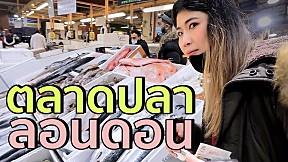 ช้อปปิ้งตลาดปลาอังกฤษ เข้าครัวซีฟู้ดสดๆ | #สตีเฟ่นโอปป้า