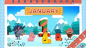 Larva KIDS | EP.51 THE MONTHS OF A YEAR