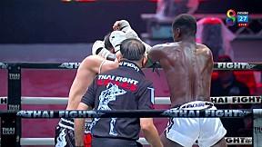 THAI FIGHT น่าน   แสนสะท้าน พี.เค.แสนชัยฯ vs NICOLAS MENDES