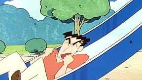 ชินจังจอมแก่น | EP.591 ตอน เล่นในสวนสาธารณะกับคุณพ่อ