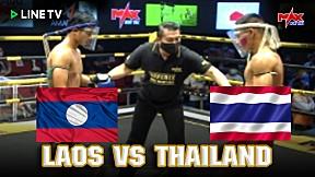 LAOS VS THAILAND พี่น้องชกจนร้อง!!! - The Champion Muay Thai