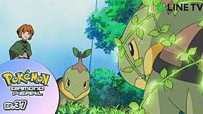 Pokémon: Diamond and Pearl | EP.37 ตอน ยิมฮาคุไต ! ปะทะนาทาเนะ !