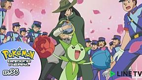 Pokémon: Diamond and Pearl   EP.36 ตอน ตำนานมิติเวลาแห่งชินโอ !