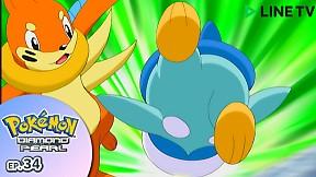 Pokémon: Diamond and Pearl   EP.34 ตอน บุยเซล !  กับเส้นทางสู่ความแข็งแกร่ง !!