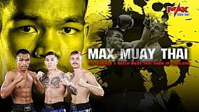 MAX MUAY THAI - LITHUANIA VS THAILAND