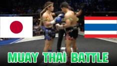 JAPAN VS THAILAND - Max Muay Thai